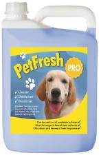 5 LITRE PET CAT KENNEL DISINFECTANT DEODORISER SAFE CLEANER FRESH ODOUR DOG V45