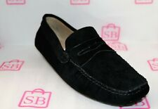 Unbranded Black Suede Leather Loafers Moccasins  NEW