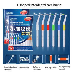 Adult Interdental Brush 0.6-1.2mm Toothpicks Dental Supplies BristlesY`hw