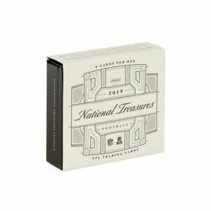 Sealed 2019 Panini National Treasures Football Hobby Box 🔥