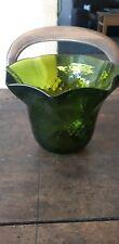 Tulipe Ancienne Abat Jour lampe à pétrole vert plafonnier lampes oil lamp  shade