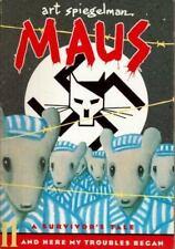 Maus II: A Survivor's Tale: And Here My Troubles Began, Art Spiegelman, Acceptab
