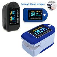 LED Finger Pulsoximeter SpO2 Oxymeter Pulsmessgerät Blut-Sauerstoff EKG