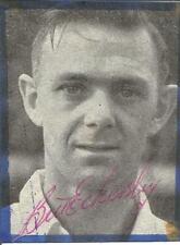 Football Autograph Bill Eckersley Signed Magazine Picture & Bio Sheet F414