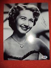 Vintage Jane Powell 8x10 autographed photo PSA/DNA