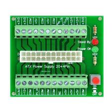 24/20-pin ATX DC Power Supply Breakout Board Module 24Pin ATX to terminal block