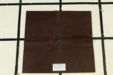 """Rungstrasse"" Brown Scrap Leather Hide Approx. 20' by 19.5' Q78W16-7"