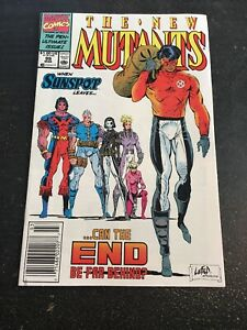 New Mutants#99 Incredible Condition 9.0(1991) 1st Feral ,1st Shattershot(cameo)