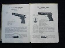 TRES RARE CATALOGUE COLT REVOLVERS PISTOLETS MARS 1934  à voir .........