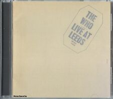 THE WHO - Live At Leeds - Pop Rock Music CD