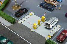 Faller 180371 Automatische Parkschranken - Maße: 111x70x18,5 mm Einbautiefe 12mm