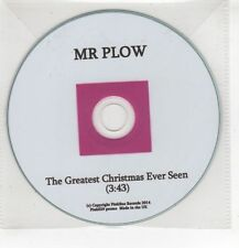 (HF726) Mr Plow, The Greatest Christmas Ever Seen - 2014 DJ CD