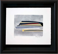 "Hans RICHTER Original ETCHING ""UNITY Appears"" Hand SIGNED Ltd. ED no. 5 w/Frame"