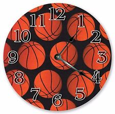 """10.5"""" BASKETBAL IS LIFE CLOCK - Large 10.5"""" Wall Clock - Home Décor - 3008"""