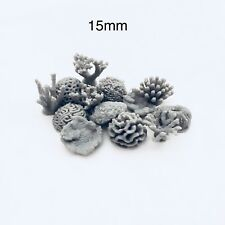 15mm Coral Base Decorations -basing elements for any war gaming collection