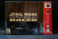 Brand New for collector Star Wars Episode 1 Pod Racer Nintendo 64 USA LucasArts