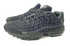 Para hombres Nike Air Max 95 Ultra se Negro Entrenadores en tamaño de Uk 8