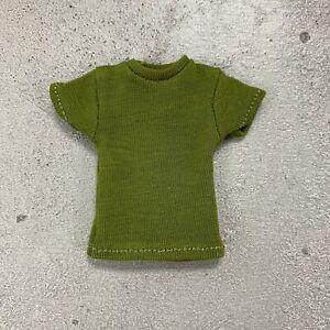 "MO-SL-GN: 1/12 Green T-Shirt for 6"" Mezco Marvel Legends Slim body"