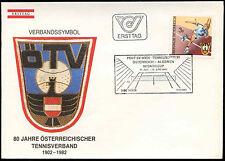 Austria 1982 Lawn Tennis FDC First Day Cover #C18024