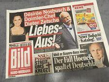 BILD IMAGE 08.05.2013 * Dieter Zetsche * NSU processus