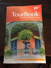 Louisiana & Mississippi AAA Tour Book Guide Atlas Maps Events Calendar 2016