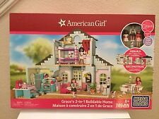 Mega Bloks American Girl Grace's 2-in-1 Buildable Home 749 Pieces