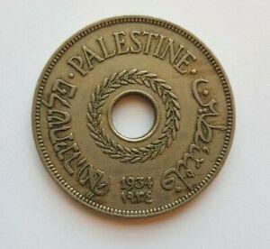 Palestine British Mandate Coin Israel 20 Mils Mil 1934 KM5 WW2 VF Original