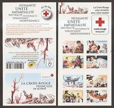 FRANCE 2015 Carnet Autoadhésif n° 1132 ** Croix-Rouge NON plié NEUF LUXE