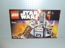 Lego ® Star Wars receta 75137 carbon freezing Chamber instruction b393