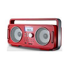 Groov-e GVSP480 Wiederaufladbare FM / USB / SD MP3 Bluetooth Music System USB-La