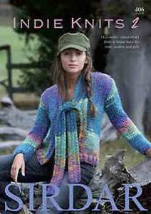 Sirdar Indie Knits Book 2 14 designs for men, women and girls