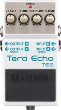 New Boss TE-2 Tera Echo Guitar Effects Pedal  TE2