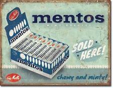 Vintage Design mentos publicidad metal escudo nuevo a partir de EE. UU.