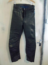 VINTAGE 70'S TT LEATHERS MOTORCYCLE JEANS TROUSERS SIZE 32