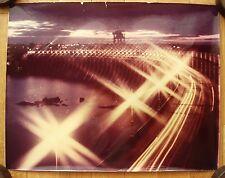 Original Soviet USSR Photo Zaporizhzhia Hydroelectricity Photographer Plaksin