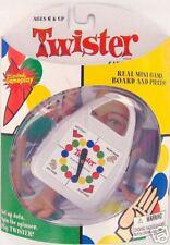 TWISTER Game Carabiner Clip-On Mini Miniature Travel Doll Retired Basic Fun NEW
