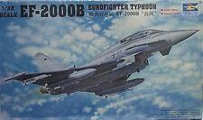 Trumpeter 1/32 EF-2000B Eurofighter Typhoon Combat Aircraft 2279