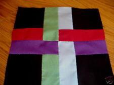 Plastic Template - Amish Weave quilt