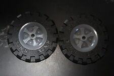 K'NEX - jeux de construction - pièce rechange - grandes roues  X 2 Large Wheels