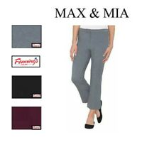 NEW! SALE! Max & Mia Ladies' Capri Dress Pant VARIETY Size VARIETY Color H52