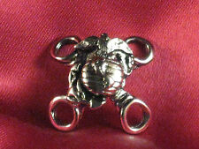 """Side Lace Motorcycle Vest Extender """"Marine"""" Sold Each"""