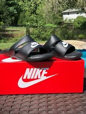 Nike Womens Size's 6, 7, 8, 9, 10  Benassi Duo Ultra Slides Sandals 819717 Black