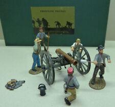 Frontline Figures, Südstaaten Kanonenmannschaft, Confederate Cannon, ACG.7