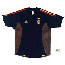 Spain 2002/04 International Away Soccer Jersey XL Adidas