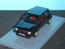 VW Golf GTi Mk I in Black with black interior 1981 Quality 1:43  Diecast by Neo