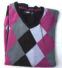 PULL HOMME CELIO CARREAUX OCCASION TAILLE L