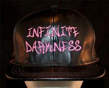 MEN'S Black Metal Music Limited Infinite Darkness Productions Promo Band Hat Cap