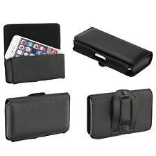 Quertasche für Nokia 6.1 Case Handy Tasche Schutz Hülle Etui Cover Quer Gürtel