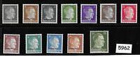 #5962    Unused stamp set / Adolph Hitler / WWII Germany / Third Reich Ukraine