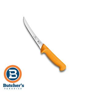 "Butchers Victorinox Swibo Chef 5"" Curved Boning Knife - Swiss Made   5840513"